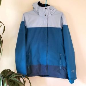 Columbia omni heat winter coat parka waterproof